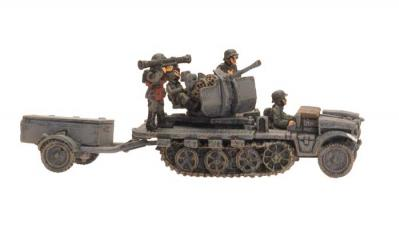 Flames of War: SdKfz 10/5 (2cm)