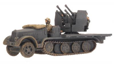 Flames of War: Sd Kfz 7/1 (Quad 2cm)