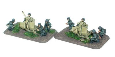 Flames of War: 2cm Flak38 gun (x2)