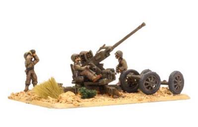 Flames of War: M1 Bofors gun (x2)
