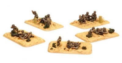 Flames of War: Armored Rifle Dismounted MGs