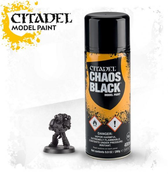 Citadel Spray Primer: Chaos Black