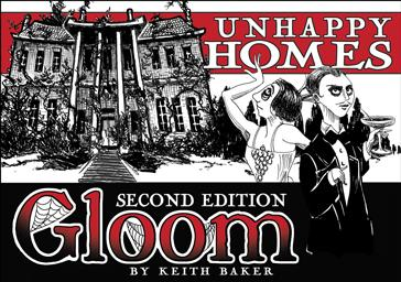 Gloom 2nd Edition Expansion: Unhappy Homes