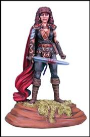 Red Cloak, Female Fighter