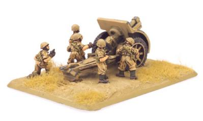 Flames of War: 100/17 Howitzer (x2)