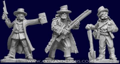 Artizan Designs Wild West: Frontier Characters (3)