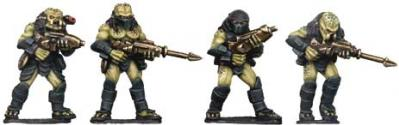 Future Wars: Hunter Aliens with Guns