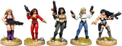 Future Wars: Babes with Guns
