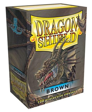 Dragon Shields: Classic Brown Card Sleeves (100)