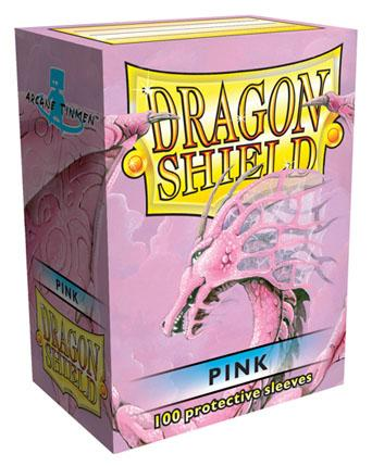 Dragon Shields: Classic Pink Card Sleeves (100)