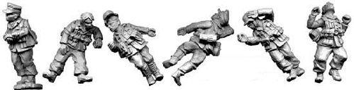 WWII 28mm: Deutches Afrika Korps Casualties (4)