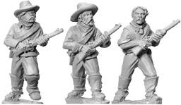 Artizan Designs Wild West: 7th Cavalry (Unmounted) with Carbines II (3)