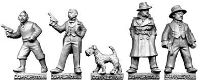 28mm Historical - 1920s (Gangsters): Sleuths