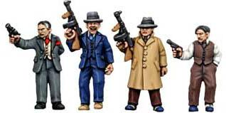 28mm Historical - 1920s (Gangsters): Frankies Fingermen