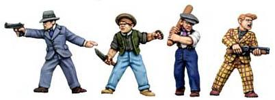 28mm Historical - 1920s (Gangsters): The Candy Kids Street Punks