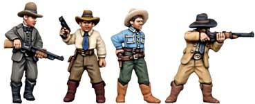 28mm Historical - 1920s (Gangsters): Texas Rangers