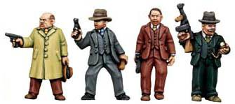 28mm Historical - 1920s (Gangsters): Hired Hitmen