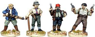 28mm Pulp: Armed Archaeologists