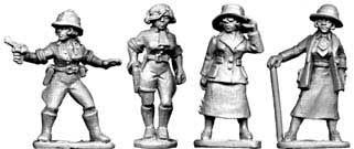 28mm Pulp: Female Archaeologists
