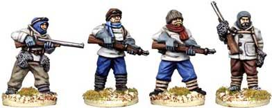 28mm Polar: Polar Adventurers