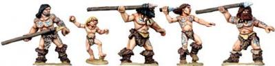 28mm Prehistoric: More Cavemen