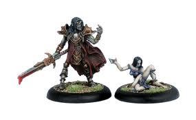 Iron Kingdoms Miniatures: Lord Vyros Iosan Eldritch & Sythyss Servant