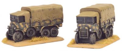 Flames of War: Dovunque 35 3-ton truck