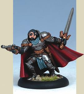 Iron Kingdoms Miniatures: Captain Julian Helstrom - The Witchfire Trilogy