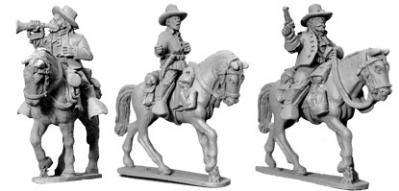 Wild West: 7th Cavalry Command (Mounted) (3)