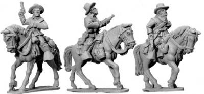 Artizan Designs Wild West: 7th Cavalry w/ Carbines (Mounted) (3)