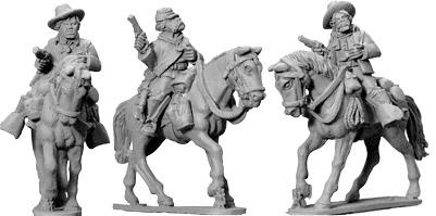 Wild West: 7th Cavalry Troopers (Mounted) (3)