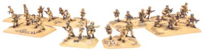 Flames of War: Folgore HQ & Platoon