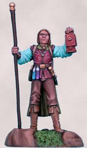 Visions In Fantasy: Male Wizard w/Staff (Elmore)