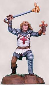 Visions In Fantasy: Male Cleric w/Mace (Elmore)