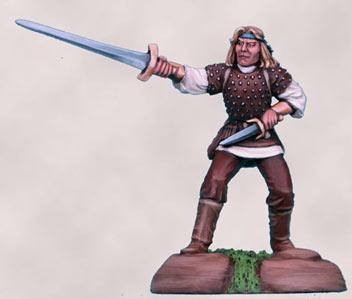 Visions In Fantasy: Male Thief w/Sword & Dagger
