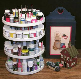 80-Paintier Carrousel Organizer