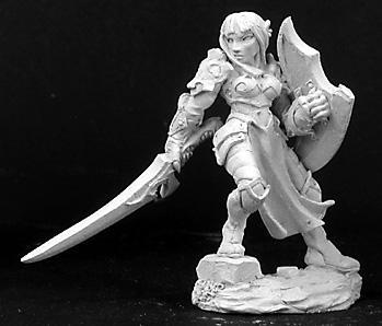 Dark Heaven Legends: Dorva Female Dark Elf