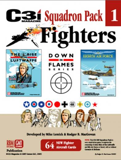 GMT Games: Down in Flames Squadron Pack