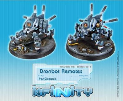 Infinity (#014) PanOceania Dronbot Remotes REM (2)