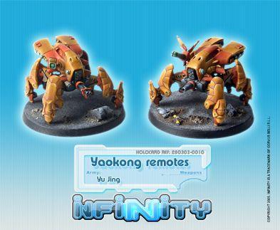 Infinity (#010) Yu Jing Yaokong Remotes (2)