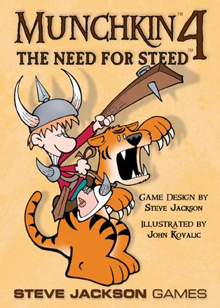 Munchkin: 4 Need For Steed (Expansion)