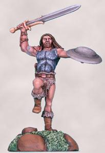 Visions In Fantasy: Male Beastmaster w/Sword