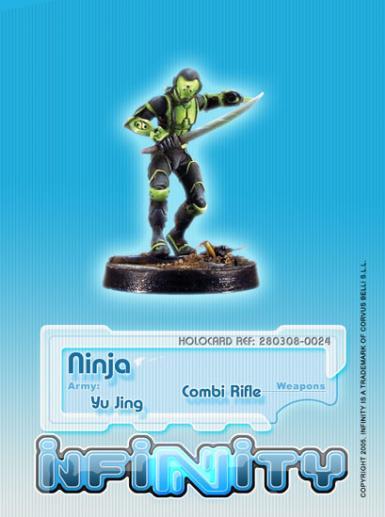 Infinity (#024) Yu Jing Ninja (CCW Shock)