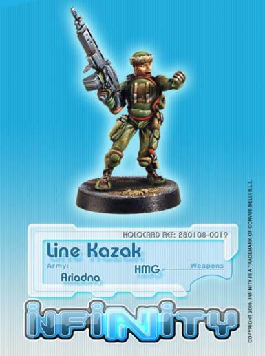 Infinity (#019) Ariadna Line Kazak (HMG)