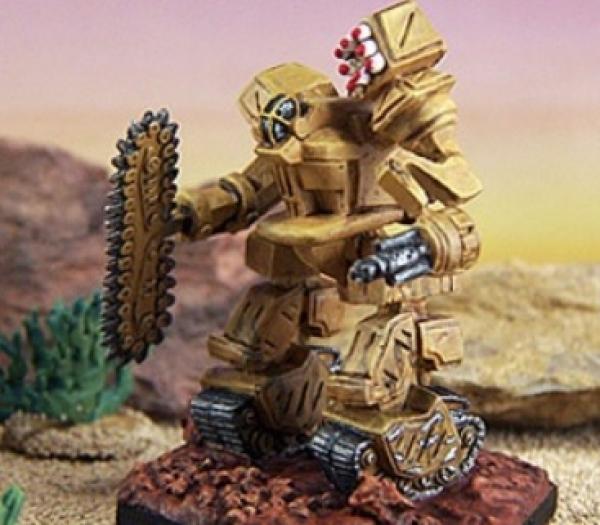 BattleTech Miniatures: Mining Mech Mod (Dark Age 3)