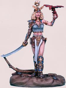 Parkinson Masterworks: Valshea, Female Alven Warrior