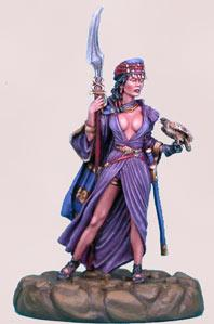 Parkinson Masterworks: Desert Wing, Female Warrior w/Hawk