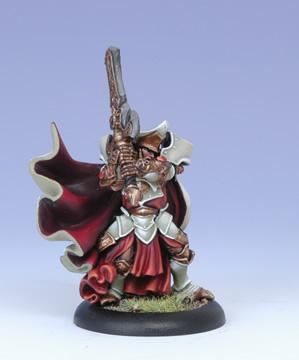Warmachine (The Protectorate Of Menoth) High Paladin Vilmon