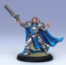 Iron Kingdoms Miniatures: Prince Leto Raelthorne