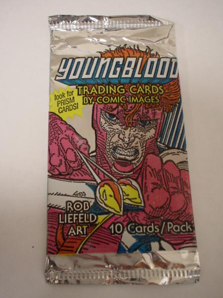Youngblood Trading Card Pack (10 Cards)